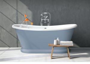 BC Designs - Acrylic Boat Bath - 1800mm x 800mm