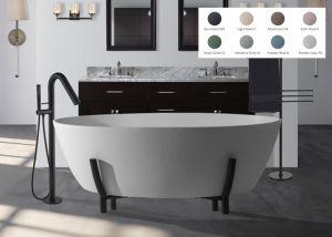 BC Designs Essex - Cian Stone Bath - 1510mm x 760mm (Various Colours)