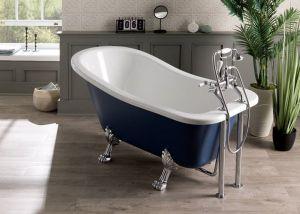 BC Designs - Fordham Slipper Bath - 1500mm x 730mm