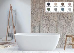 BC Designs - Vive Cian® Stone Bath - 1610mm x 750mm (Various Colours)