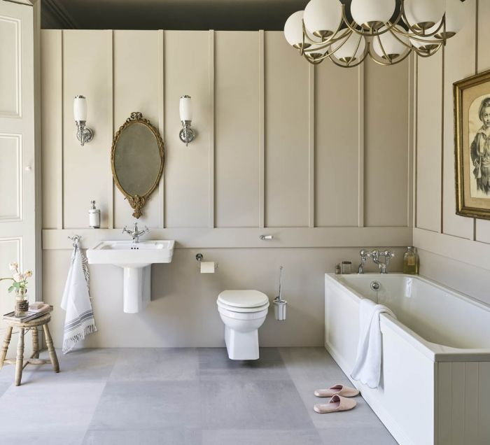 Burlington - Arundel Bath - White - 1700mm x 700mm