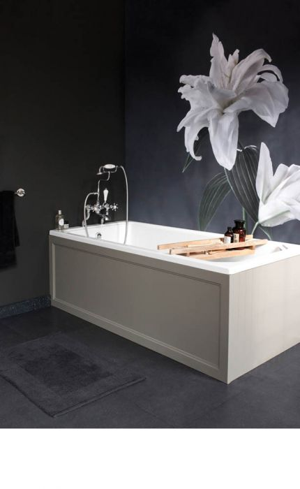 Burlington - Arundel Bath - White  - 1700mm x 750mm