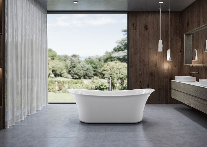 Image of Charlotte Edwards Admiralty Bath in Gloss White