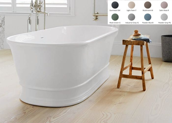 BC Designs Aurelius Freestanding Bath - 1740mm x 760mm