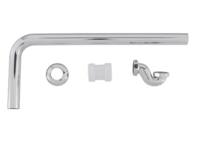 BC Designs Exposed Low Bath Trap With Adaptor