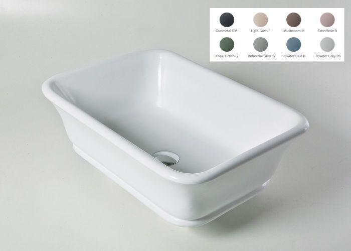 BC Designs - Magnus/Senator Cian® Stone Basin - 525mm x 380mm (Various Colours)