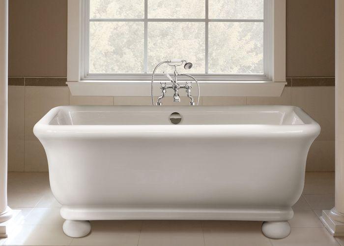 BC Designs Senator With Feet - Cian® Stone Bath - 1804mm x 850mm