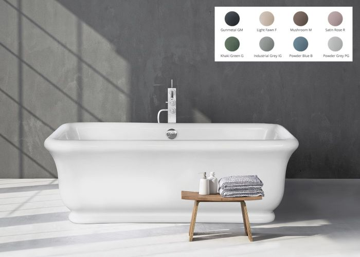 BC Designs Senator - Cian® Stone Bath - 1804mm x 850mm