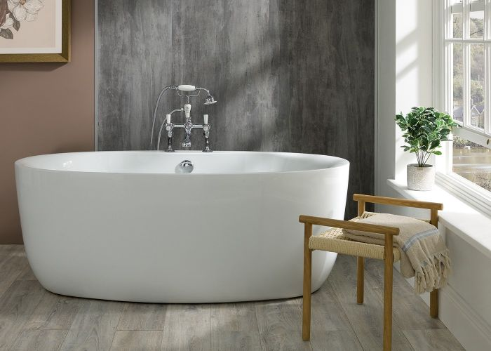 BC Designs Tamorina - Acrymite® Acrylic Bath - 1600mm x 800mm