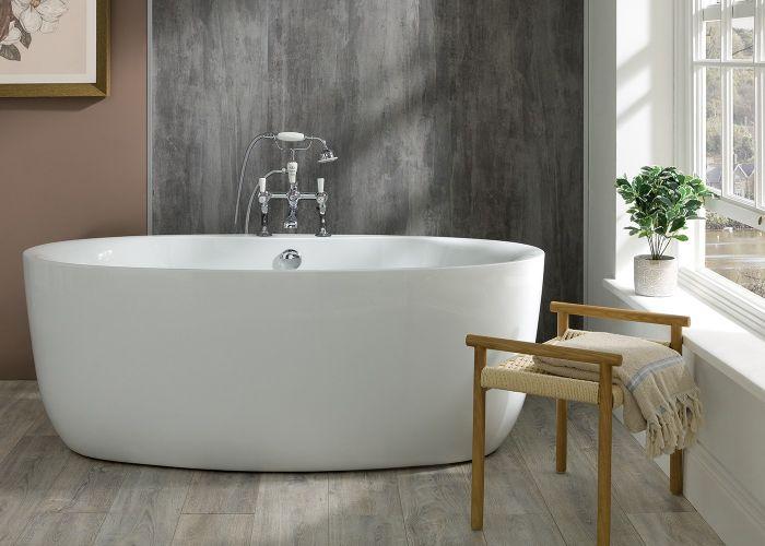 BC Designs Tamorina - Acrymite® Acrylic Bath - 1700mm x 800mm