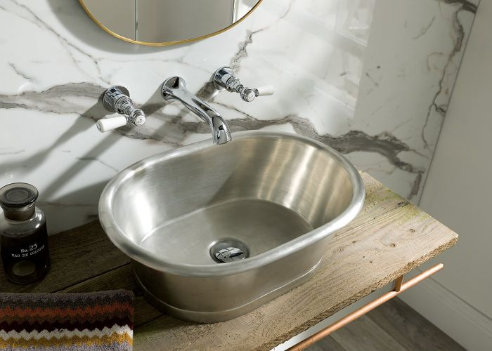 BC Designs - Tin Basin - 530mm x 345mm