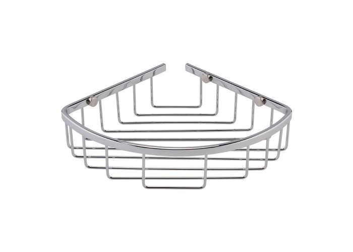 BC Designs Victrion Corner Shower Basket