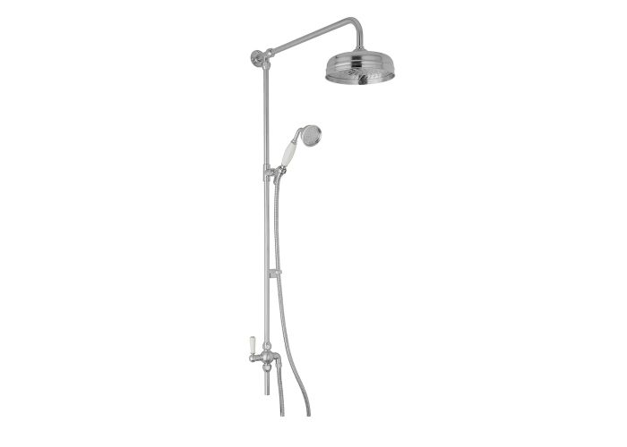 "BC Designs Victrion Superbe Fixed Riser Kit 8"" Showerhead"
