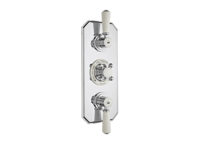 BC Designs Victrion Triple Concealed Shower Valve