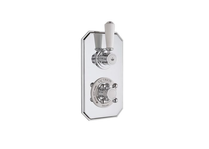 BC Designs Victrion Twin Concealed Shower Valve