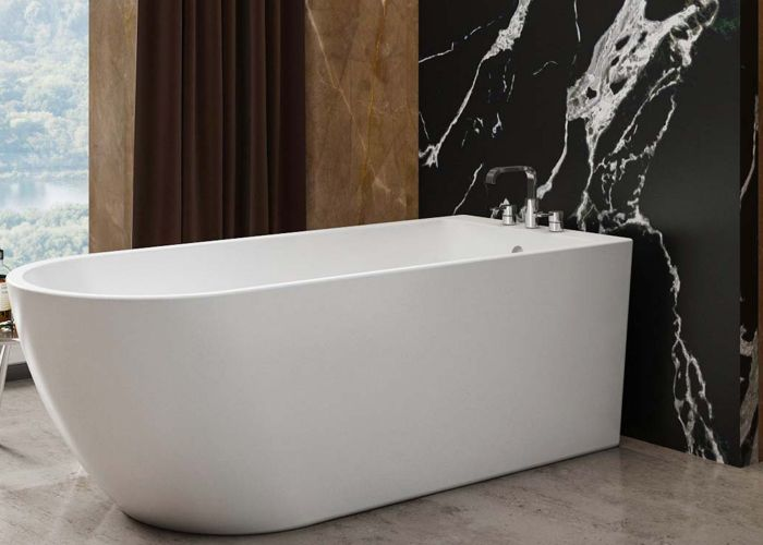 Image of Charlotte Edwards Belgravia Single Ended Bath in Gloss White