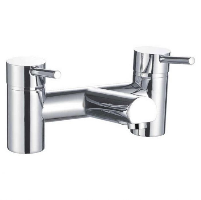 Lux Bath - Pin Bath Filler - Chrome