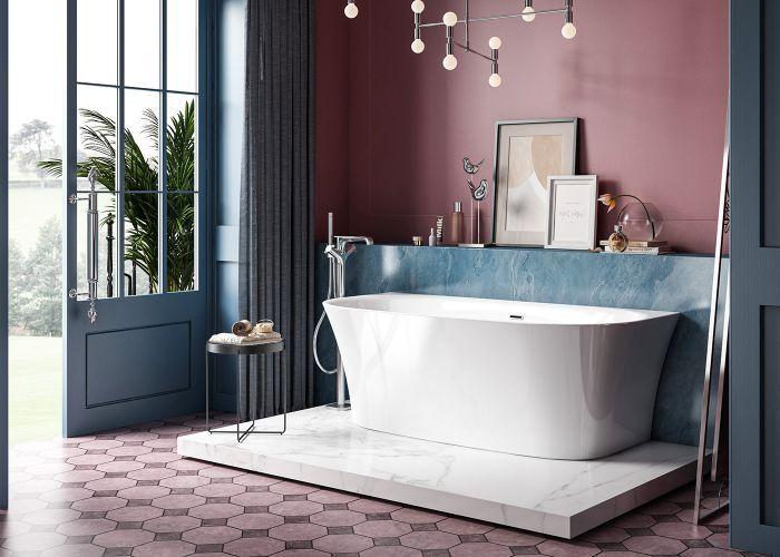 Charlotte Edwards - Carme Bath - 1700mm x 800mm