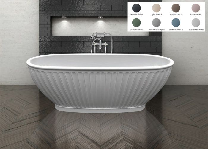BC Designs Casini Freestanding Bath - 1680mm x 750mm