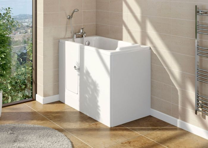 Mantaleda Caversham Deep Soak Bath - 1210mm x 660mm