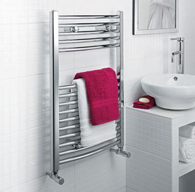 Ultraheat Chelmsford Curved Towel Radiator