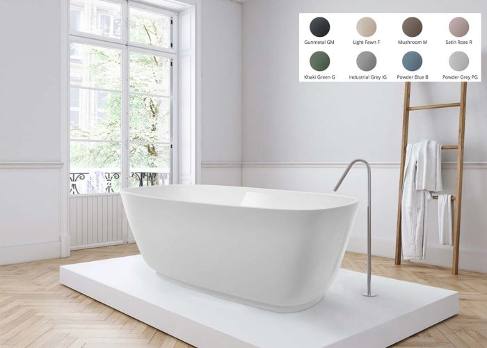 BC Designs Divita Freestanding Bath - 1495mm x 720mm