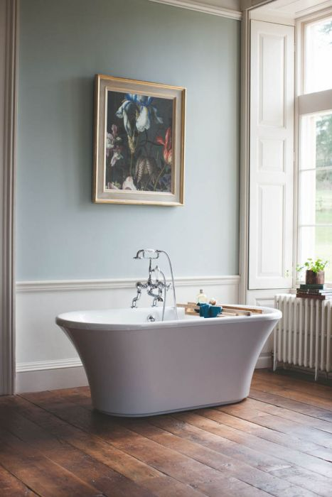 Burlington Brindley Double Ended Bath - White - 1700mm x 750mm