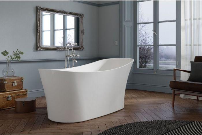 Royce Morgan - Ebony Boat Bath - 1710mm x 730mm