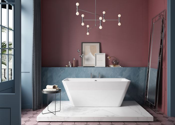 Image of Charlotte Edwards Eris Bath in Gloss White