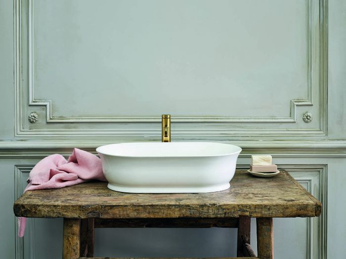 Clearwater - Florenza Basin Gloss White - 350mm x 550mm
