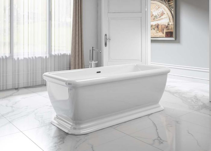 Image of Charlotte Edwards Henley Bath in Gloss White