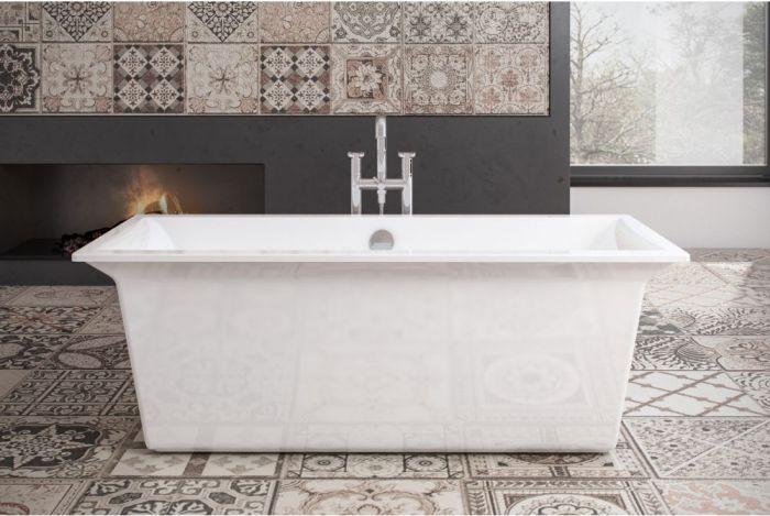 Royce Morgan - Hexham Double Ended Bath - 1690mm x 760mm