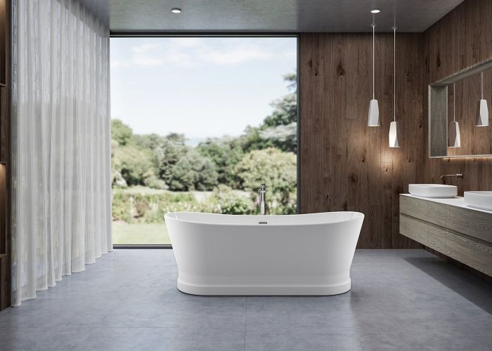 Image of Charlotte Edwards Jupiter Bath in Gloss White