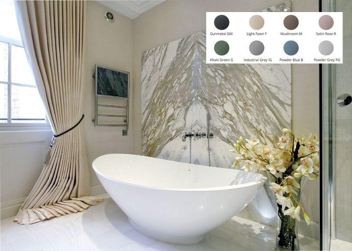 BC Designs Kurv Freestanding Bath - 1890mm x 900mm