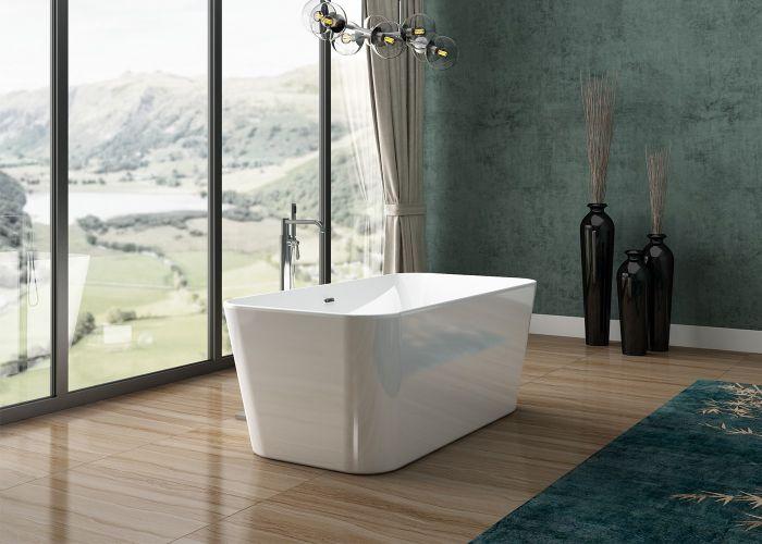 Image of Charlotte Edwards Leda Bath in Gloss White