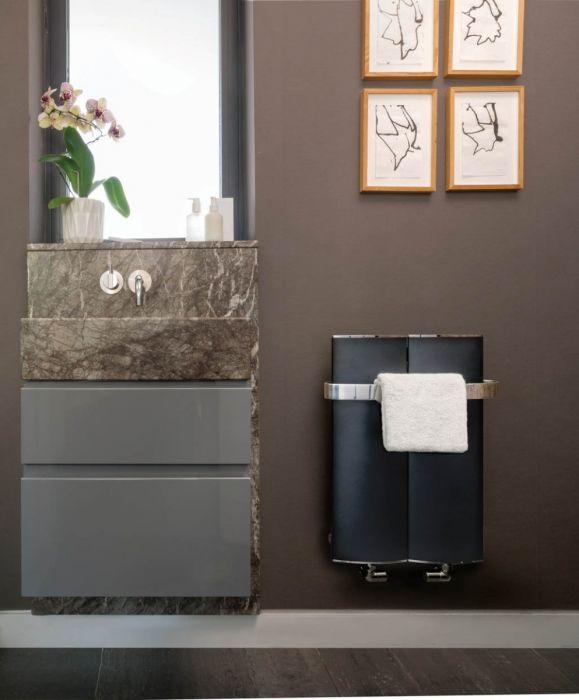 Bisque Lissett Aluminium Towel Radiator