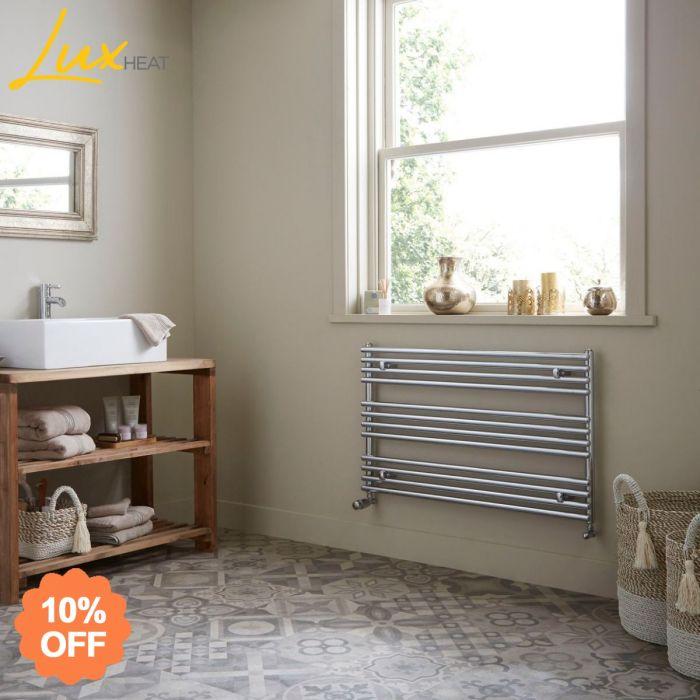 Lux Heat Tokyo Horizontal Towel Radiator