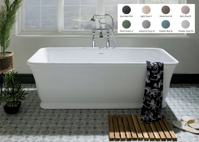 BC Designs Magnus Freestanding Bath - 1680mm x 750mm