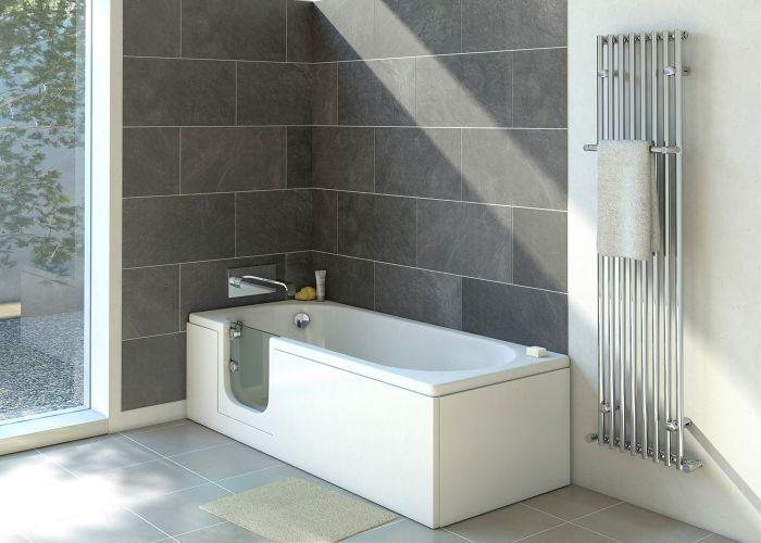 Mantaleda Abalone Walk-In Bath - 1700mm x 700mm