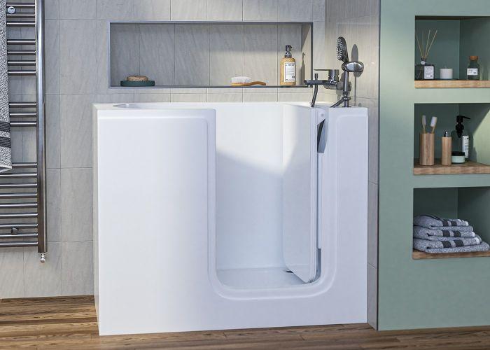 Mantaleda Affinity Deep Soak Bath - 1050mm x 665mm