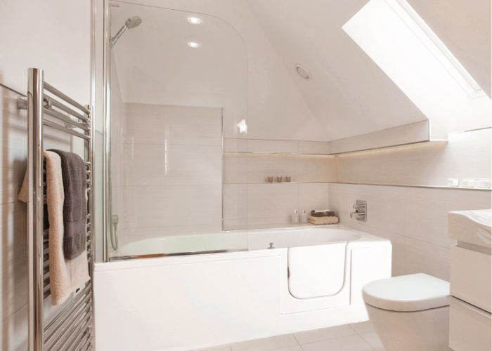 Mantaleda Avrail RV Walk-In Shower Bath - 1500mm x 700mm