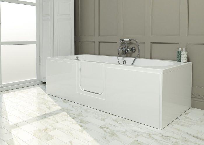 Mantaleda Cordova Walk-In Bath - 1700mm x 750mm