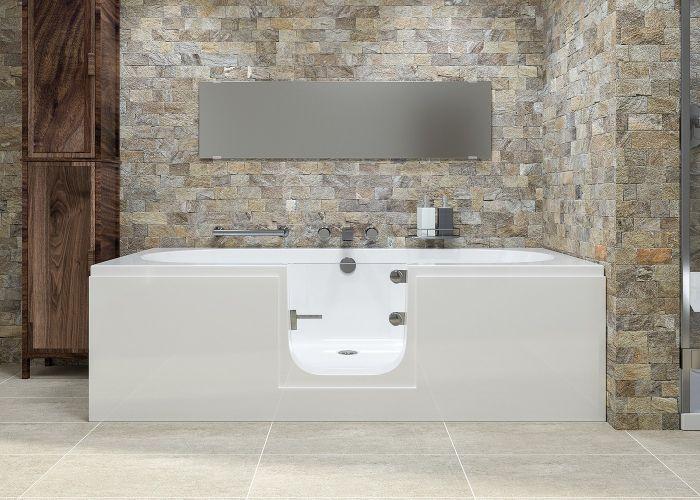 Mantaleda Cortega Walk-In Bath - 1700mm x 750mm