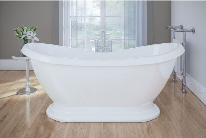 Royce Morgan - Melrose Plinth Boat Bath - 1700mm x 700mm