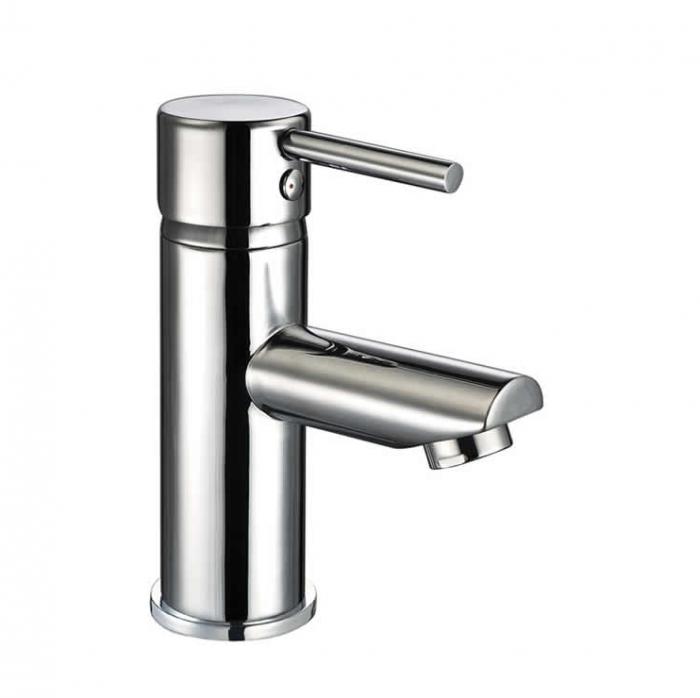 Lux Bath - Pin Mini Monobloc Basin Mixer - Chrome