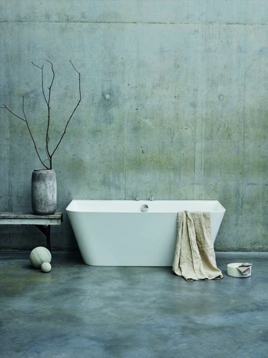 Clearwater Patinato Grande - Gloss White - 1690mm x 800mm