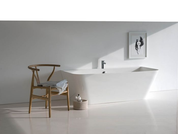 Clearwater Patinato Petite -  Gloss White - 1534mm x 800mm
