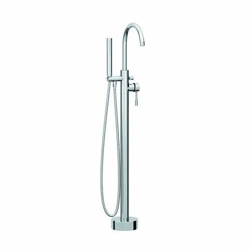 Lux Bath - Pin Freestanding Bath Shower Mixer - Chrome