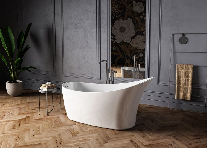 Image of Charlotte Edwards Portobello Bath in Gloss White