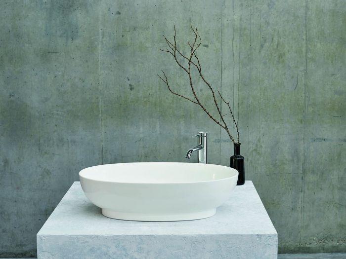 Clearwater - Puro Basin Gloss White - 350mm x 550